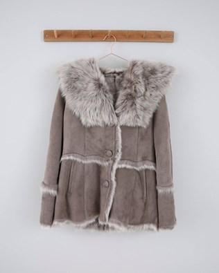 Hooded Toscana Jacket - Size 16 - Vole - 528