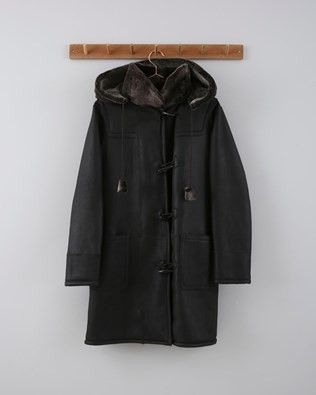 Duffle Coat - Size 10/12 - Chocolate 675