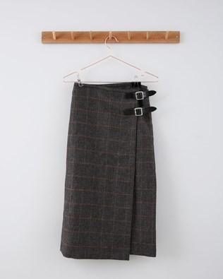 Midi Kilt - Size 10 - Heritage Check 736