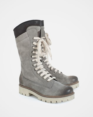 Boxer Boot - Size 38 - Grey - 1240