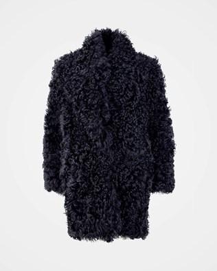 Long Himalayan Coat - Size 16 - Midnight Blue - 2108