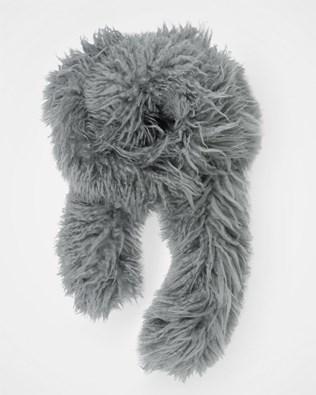Yeti Scarf - One Size - Grey - 1644