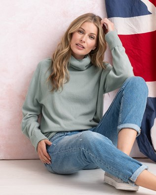 Geelong Slouch Turtleneck