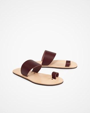 Toe Strap Sandal - UK 8 - Sloeberry - 1307