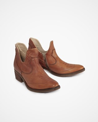 Tangier Ankle Boot - Size 37 - Tan - 1641