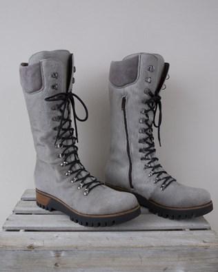 Pony Skin Wilderness Boot - Size 37 - Grey - 1339