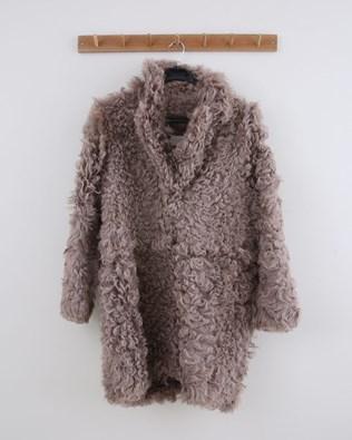 Long Himilayan Coat - Size 10 - Mushroom - 1488