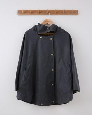 Wax Cape - Size 10 - Grey - 1499
