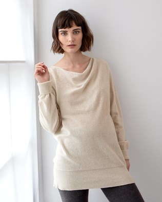 Soft Cowl Sweater