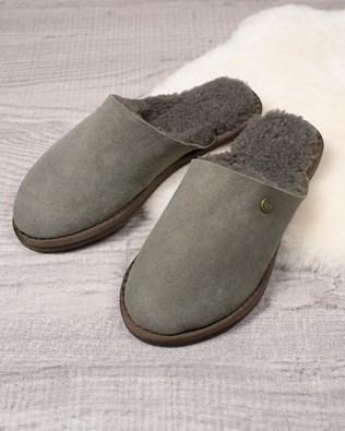 Ladies Sheepskin Mules - Vole - Size 5 - 2502