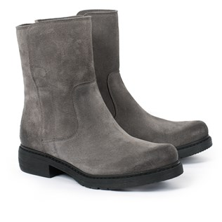 Essential Leather Ankle Boot - Grey - 39 - 2715