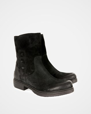 Essential Leather Ankle Boot - Black - Size 38 - 2724