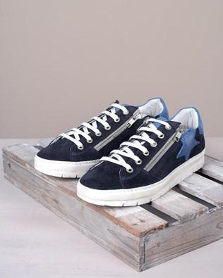 Embellished Trainers - Indigo - Size 39 - 2763