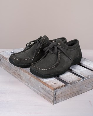 Lace Up Moccasin Shoe