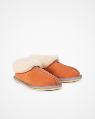 Ladies Sheepskin Bootee Slipper - Tobasco - Size 5 - 2474