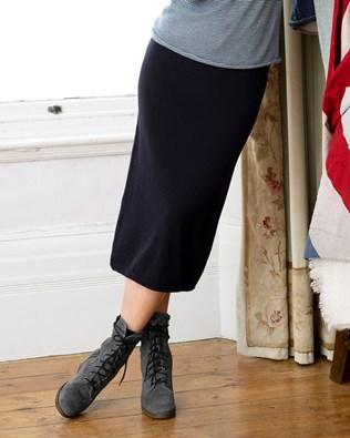 Merino Midi Skirt