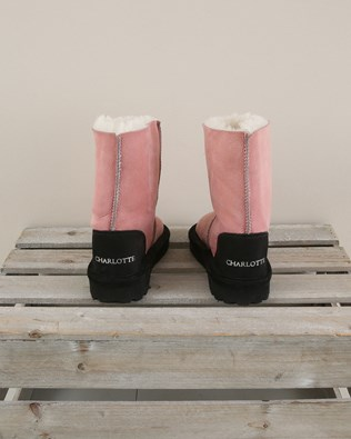 Kids Celt Boot Personalised Charlotte - Size 2 - Pink - 1983