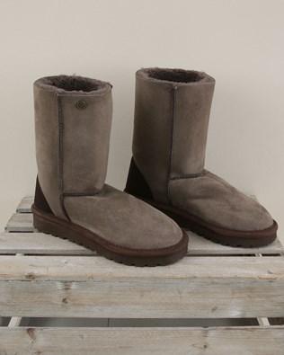 Original Celt Sheepskin Boots Reg - Size 6 - Vole - 2003