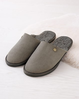 Women's Shearling Mule Slippers