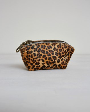 Small Bag Tidy Purse - One/Size - Leopard - 2405