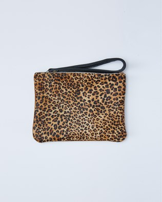 Small Clutch Bag Tidy - One/Size - Leopard - 2419