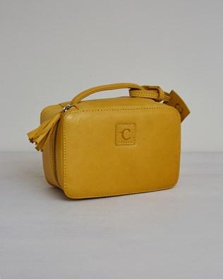 Veg Tan Leather Vanity Case - One/Size - Gorse - 2422