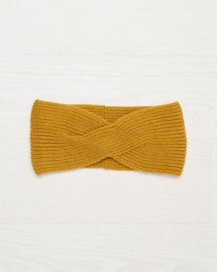 Cashmere Headband - Mustard - One Size - 2507