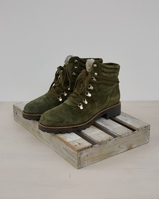 Hiker Boot - Olive Suede - Size 40 - 2574
