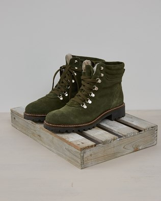 Hiker Boot - Olive Suede - Size 38 - 2575