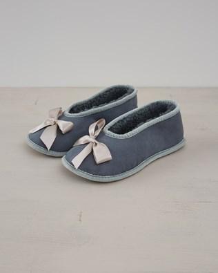 Fonteyn Slipper - Light Grey - Size 3 - 2580