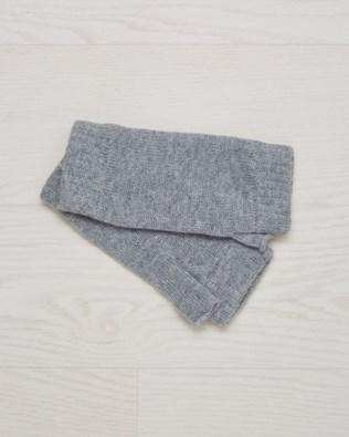 Cashmere wrist warmers - One Size - Light grey - 2609