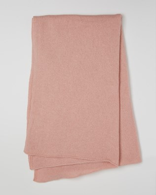 Cashmere Stole - Pink - One Size - 2610