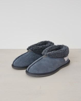 Mens Bootee Slipper - Icon Dark Grey - Size 8 - 2544