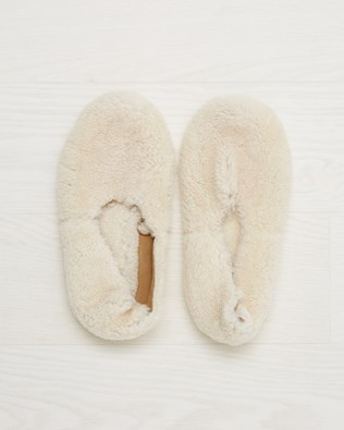Cocoon Slipper - Ivory - Size 4 - 2545