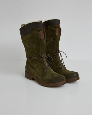 Woodsman Boots - Olive Geen - Size 37 - 2758