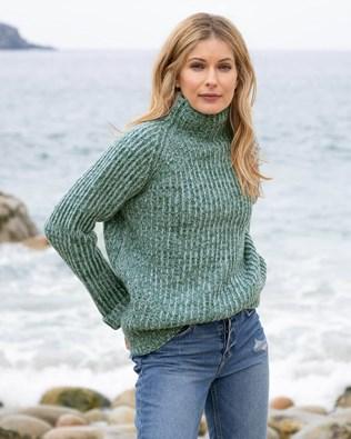 Chunky Fishermans Rib Sweater