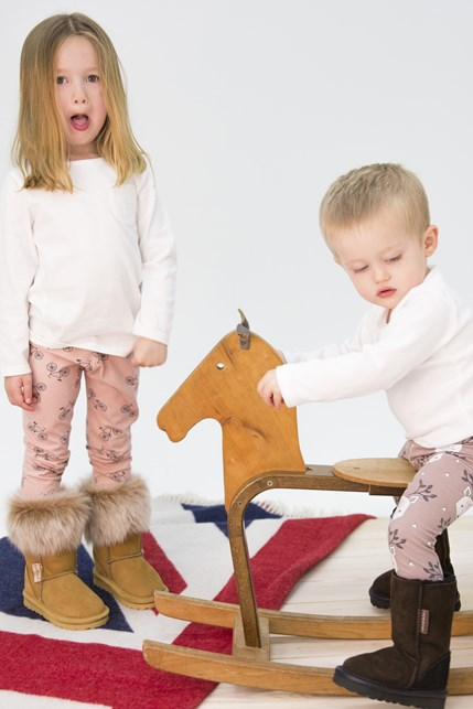 girl wears kids toscana boots £70 pictured with union jack throw £160, boy wears kids celt boots £60.jpg