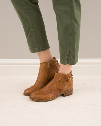 Ankle Buckle Boots