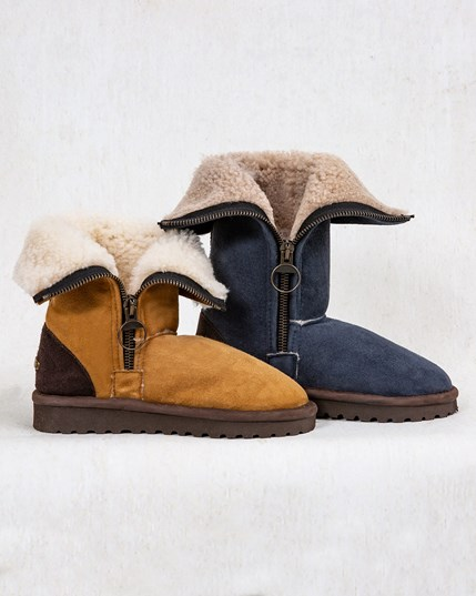 Aviator Calf Boots