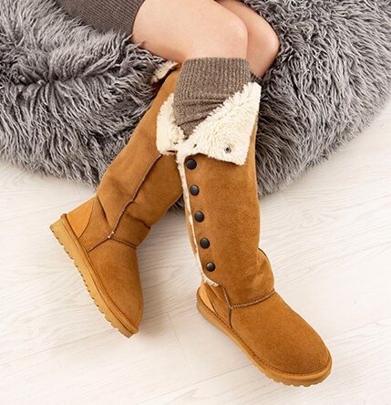 Sheepskin Boots Sheepskin Lined Boots Celtic Amp Co