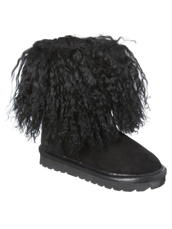 f928c5fd7027 Kids Mongolian Boots - Size 5-6 - Black 529