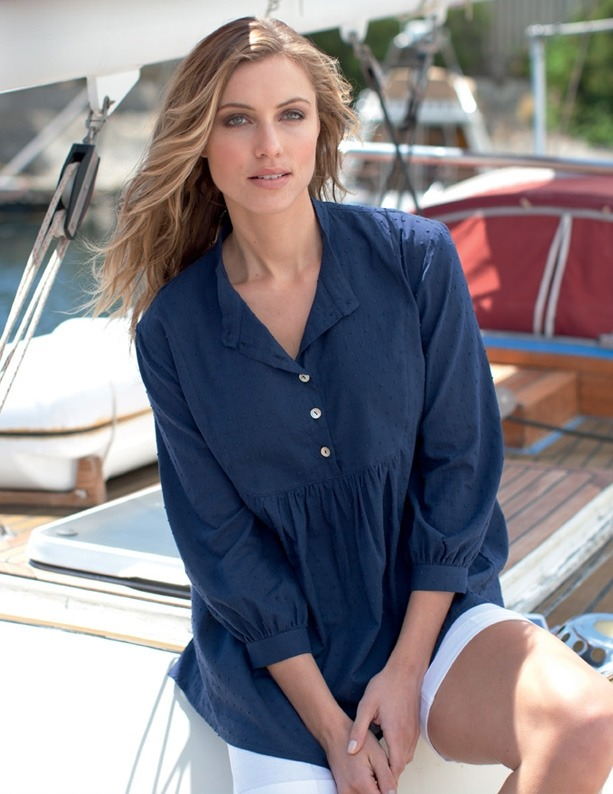 6510-LFS-COTTON DOBBY SHIRT-Navy.jpg