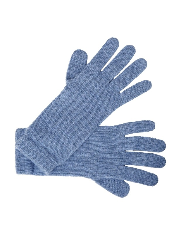 Short Cashmere Gloves