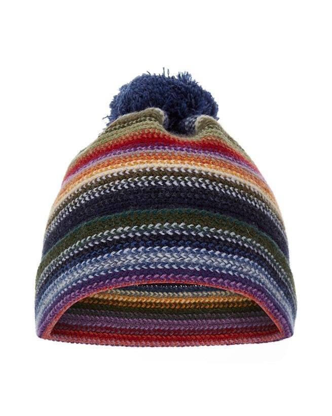 Lambswool Multi-stripe Hat