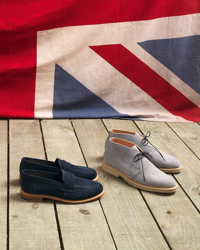 British Made Desert Boots