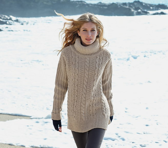 Winter fashion from Celtic & Co.