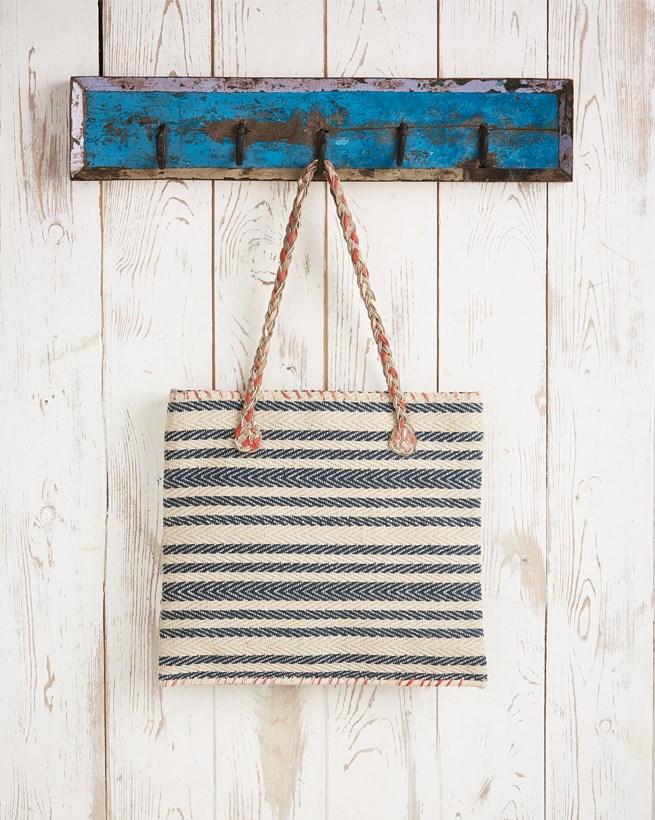 Woven Stripe Bag