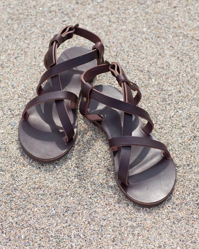 Open Crisscross Sandals