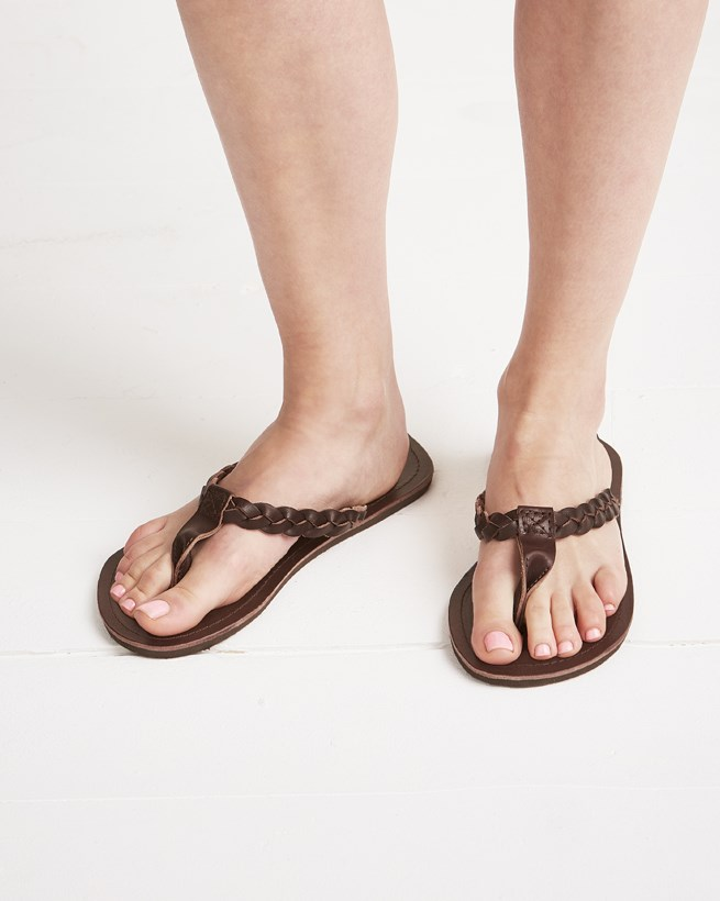 Plaited Sandals