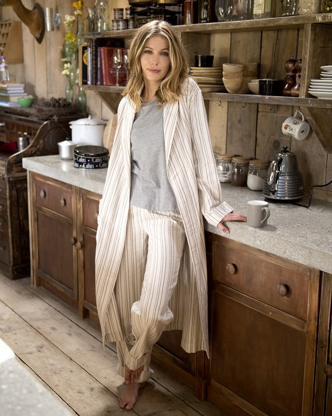 Organic Woven Robe